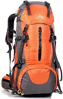 UMEICOOL 50L Impermeable Senderismo Mochila de Gran Capacidad Montañismo Daypack Deporte Al Aire Libre para Viaje Acampar Deporte Senderismo Camping Pesca Esquí