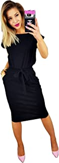 Women's Elegant Long Sleeve Lantern Sleeve Wear to Work...