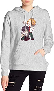 My Hero Academia Boku No Hero Jiro Kyoka Kaminari Denki Hoodies Sweatshirt Adult Pullovers for Women