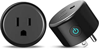 Smart Plug Wi-Fi Power Socket Outlet Works with Amazon...