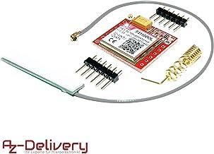 AZDelivery Modulo SIM800L GSM GPRS con Antena para Arduino con E-book incluido!
