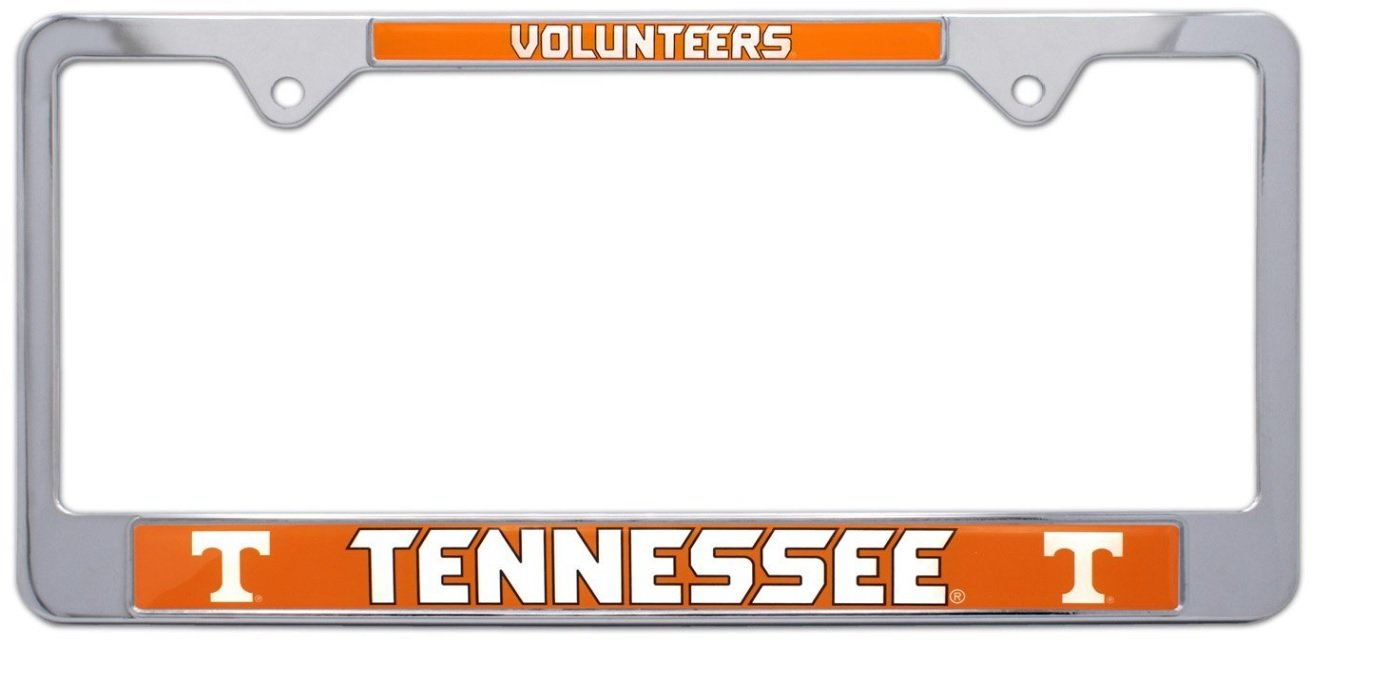 AMG Auto Emblems All Metal NCAA Mascot License Plate Frame (Tennessee)