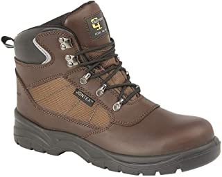 Mens Action Laced Leather Hiking Boot