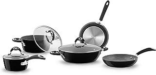 Bialetti 00SET005 Cookware Set 8 Pieces Limited Edition Centennium, Suitable for Induction, Aluminium