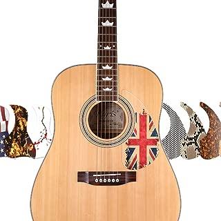 leather pickguard acoustic
