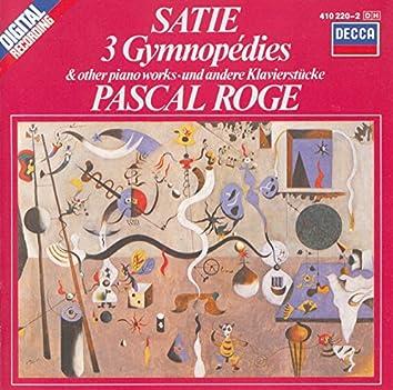 Satie: 3 Gymnopédies; 6 Gnossiennes etc.
