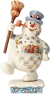 Enesco Frosty the Snowman by Jim Shore Marching Frosty w/Parade