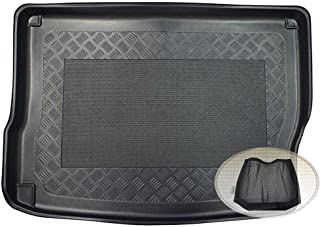 ZentimeX Z3078488 Antirutsch Kofferraumwanne fahrzeugspezifisch + Klett Organizer (Laderaumwanne, Kofferraummatte)