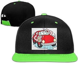 Adgjhbvn Unisex Toddler Hip Hop Baseball Caps and Hat Boy Girls Take A Bath Car Gorras de Hip Hop de béisbol