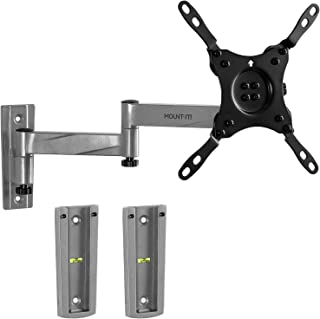 Mount-It! RV TV Mount, Lockable Full Motion TV Wall Mount Designed Specifically for RV or Mobile Home Use Single Arm Tilting and Swiveling 42 Inches Max, 33 Lb Load Capacity, up to VESA 200 Compatible