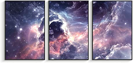 NWT Framed Canvas Wall Art for Living Room, Bedroom Sky Space View Canvas Prints for Home Decoration Ready to Hanging - 16