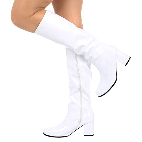 4a5f8ce8f3a Buckle Shoes - (BS12733 New Ladies Womens Fancy Dress Party GO GO Boots  1960s