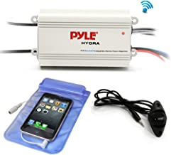 Pyle Auto 4-Channel Marine Amplifier – 200 Watt RMS 4 OHM Full Range Stereo with..