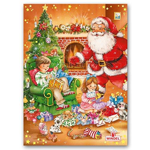 German Chocolate Advent Christmas Calendar. Made by Windel 75g