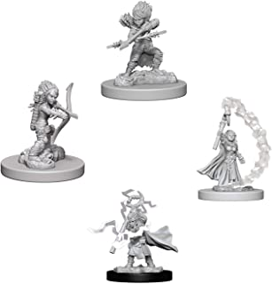 Pathfinder Battles Deep Cuts Miniatures Bundle: Gnome Female Rogue W6 + Gnome Female Sorcerer W6