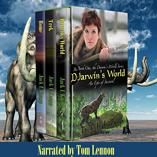 Couverture de Boxed Set, The Darwin's World Series: Includes Darwin's World, The Trek, and Home