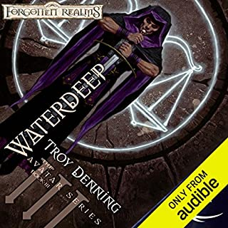 Waterdeep audiobook cover art