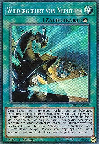 HISU-DE009 - Wiedergeburt von Nephthys - Super Rare - Yu-Gi-Oh - Deutsch - 1. Auflage - LMS Trading