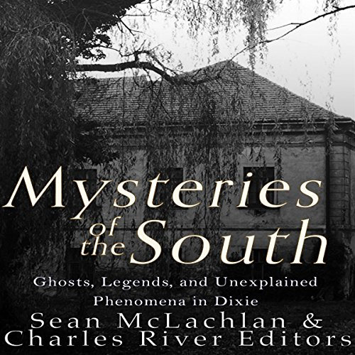 Mysteries of the South audiobook cover art