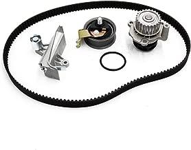 Timing Belt Water Pump Tensioner Kit Fit 1999-2006 VW Beetle Golf Jetta Passat And Audi A4 Quattro/TT/TT Quattro 1.8L 1.8T DOHC Turbocharged