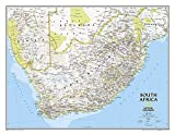 National Geographic: South Africa Classic Wall Map - Laminated (30.25 x 23.5 inches) (National Geographic Reference Map)