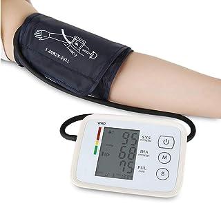 summersummer Monitor de Tensión Arterial, Inteligente portátil Monitor de presión Arterial Digital, USB Recargable, con la función de la Voz, Adecuado for Las familias