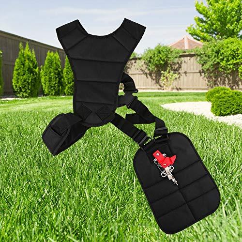 WATERMELON Doble Hombro for Segadora Correa for Lleva Hook desbrozadora nuevos Condensador de Herramientas de jardinería Miniatura