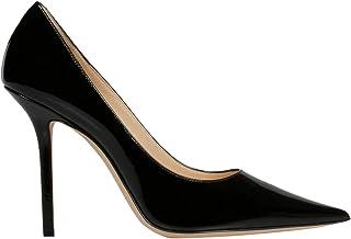 JIMMY CHOO Luxury Fashion Womens LOVE100PATBLACK Black Pumps | Fall Winter 19