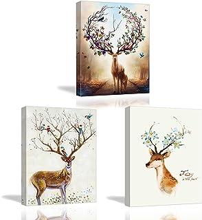 Piy Painting muurschildering canvas afdrukken dier decoratie foto's Nieuwjaar Kerstmis verjaardagscadeau