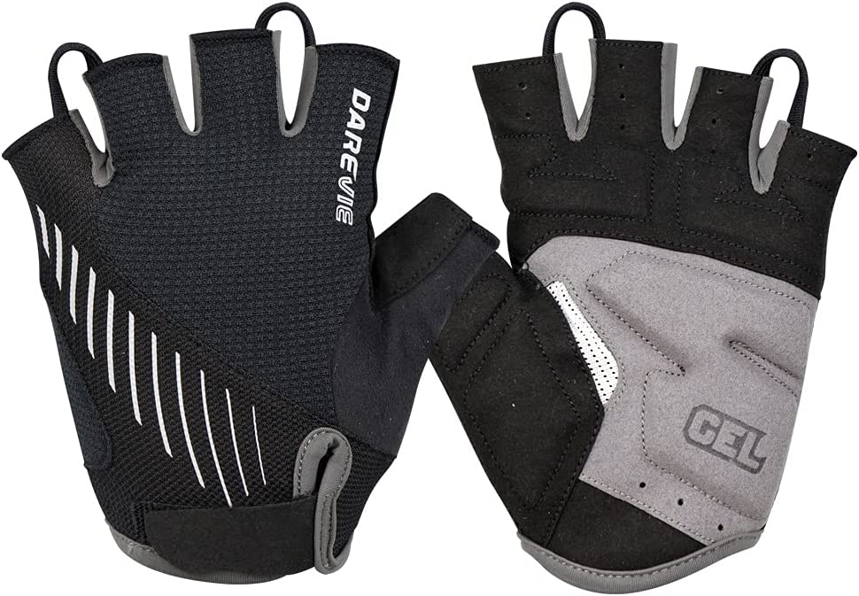 Cycling Bike Gloves Padded Finger Shock-Abso Max 81% OFF Max 47% OFF Bicycle Half