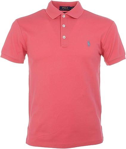 Ralph Lauren Homme 710541705102 Rouge Coton Polo