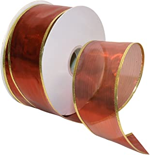 Best 2 1/2 inch wired ribbon Reviews