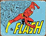 Desperate Enterprises The Flash - Retro Tin Sign, 16' W x 12.5' H