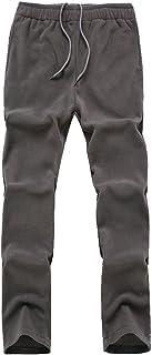 comprar comparacion YiLianDa Pantalones de Montañismo Otoño e Invierno Pantalones de Softshell de Trekking