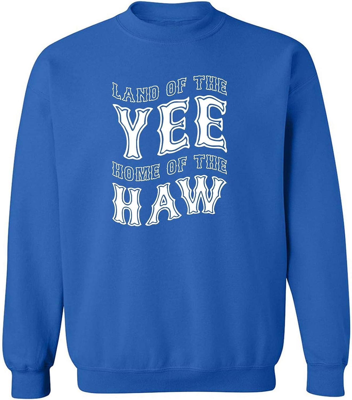 Land Of The Yee Home Of The Haw Crewneck Sweatshirt