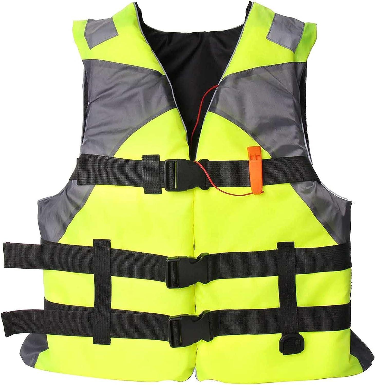 HLENLO Adults Life Jacket Floation Jacksonville Mall Swimjacket Swimsuit Swimwear Max 43% OFF