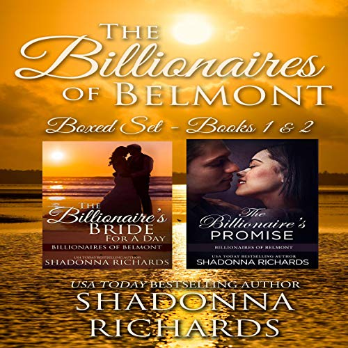 The Billionaires of Belmont Boxed Set (Books 1-2) cover art