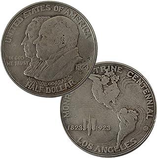 1923 S Monroe Doctrine Centennial Commemorative Half Dollar Circulated