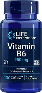 Life Extension Vitamin B6 250 mg, 100 Vegetarian Capsules