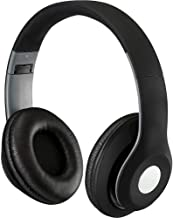iLive Bluetooth On-Ear Headphones, Includes 3.5mm Audio Cable and Micro USB to USB Cable,..