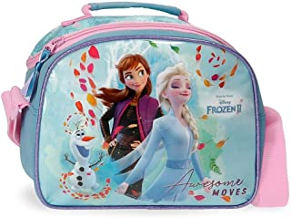 Frozen Awesome Moves Neceser Adaptable con Bandolera, Azul