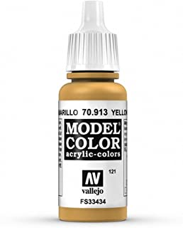 Vallejo Acrylic Paint, Yellow Ochre