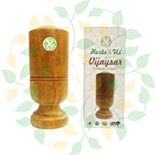 Herbs & Us Vijaysar Ayurvedic Wooden Tumbler Glass