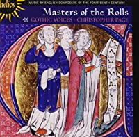 Masters of the Rolls-Music By English Composers of