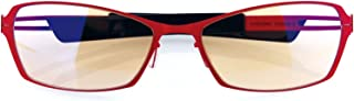 Arozzi Visione VX-500 Computer Gaming Glasses - Anti-Glare, UV and Blue Light Protection, Eye Strain Relief, Comfortable G...
