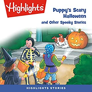 Puppy's Scary Halloween and Other Spooky Stories audiobook cover art
