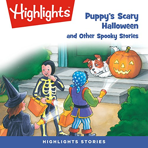 Puppy's Scary Halloween and Other Spooky Stories copertina