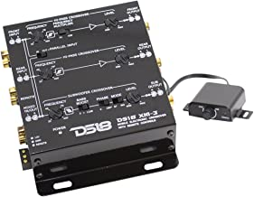 DS18 DS-XM3 Two-to-Three Way Electronic Crossover with Remote Control