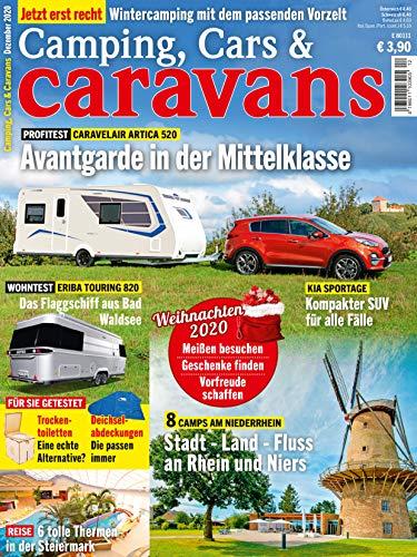 """Camping, Cars & Caravans 12/2020 \""""Avantgarde in der Mittelklasse\"""""""