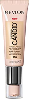 Revlon PhotoReady Candid Natural Finish Foundation, with Anti-Pollution, Antioxidant, Anti-Blue Light Ingredients, without Parabens, Pthalates and Fragrances; Vanilla.75 Fluid Oz